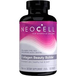 Neocell, Collagen Beauty Builder, добавка с коллагеном, 150 таблеток